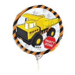 Construction Foil Balloon with stick