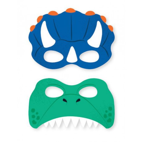 Dinosaur Party Masks
