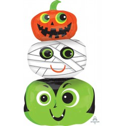 """36"""" Halloween Foil balloon- Halloween Heads"""