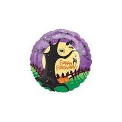 Happy Halloween Foil balloon- Nightscape background