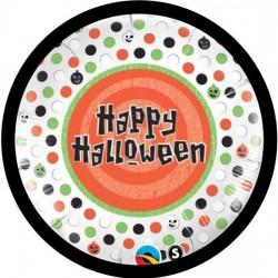 Happy Halloween  Foil balloon- Polka Dots