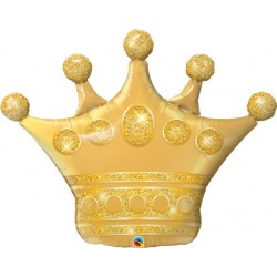 Golden  Crown Foil Balloon