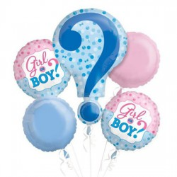 Baby Shower Foil Balloon Arrangement