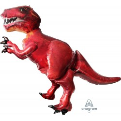 T-Rex Dinosaur Airwalker Foil Balloon