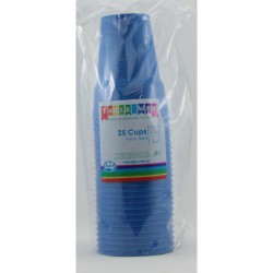 Party Cups 25 pCE, 285ml - Royal Blue