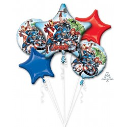 *INFLATED* Avengers Foil Balloon Bouquet