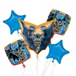 *INFLATED* Batman Foil Balloon Bouquet