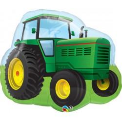 Farm Tractor Foil Balloon