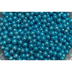 Cachous Pearl Blue 100g -4mm