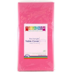 Table Cover Rectangular - Hot Pink