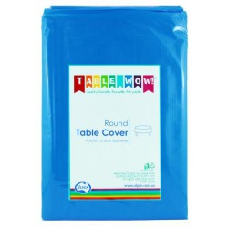 Table Cover Round - Royal Blue