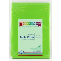 Table Cover Round - Lime Green
