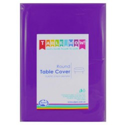 Table Cover Round - Purple
