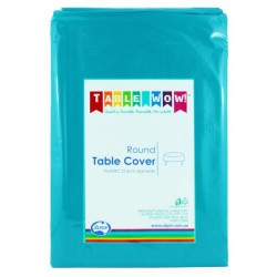 Table Cover Round - Azure