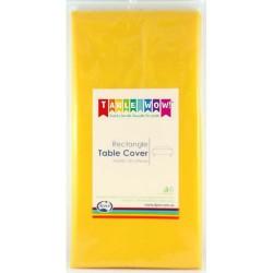Table Cover Rectangular Yellow
