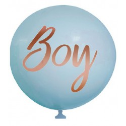 Baby Shower Printed Boy Balloon - Blue