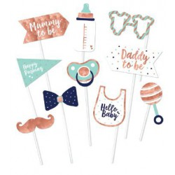 Baby Shower  Photo props- 10 pack