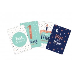 Baby Milestone Cards-  30 pack