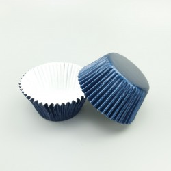 Foil Baking Cups - Navy Blue