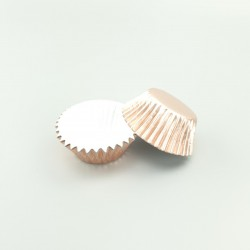 Foil Baking Cups - Rose Gold