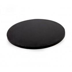 Mondo 12mm Round Drum Cake Board- 8 inch/ 20cm BLACK