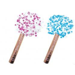Baby Shower Gender Reveal Poppers- Blue Confetti (BOY)