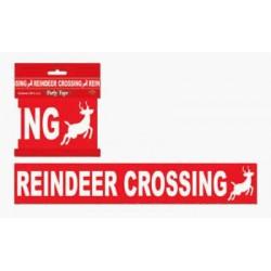 Reindeer Crossing Party Tape