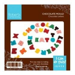 Chocolate Mould - Chocolate Alphabet