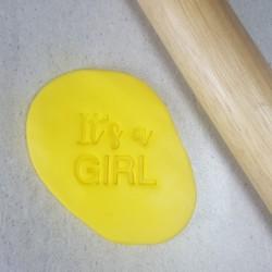 It's A Girl Cookie Embosser