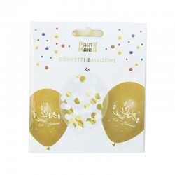 Eid Mubarak Balloons- 6 Pack