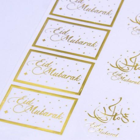 Eid Mubarak Gift labels