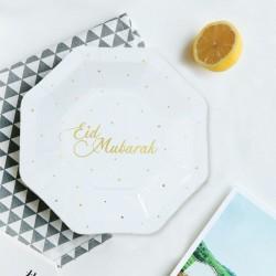 Eid Mubarak  Small Plates