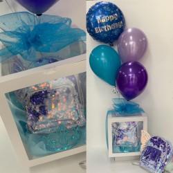 Birthday Balloon Gift Pack- Back pack & Tiara