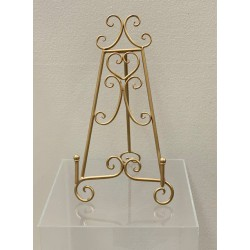 HEQ4- Easel- Gold SMALL FOR HIRE