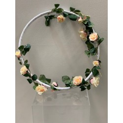 HEQ9-Embellished Hoop Display FOR HIRE