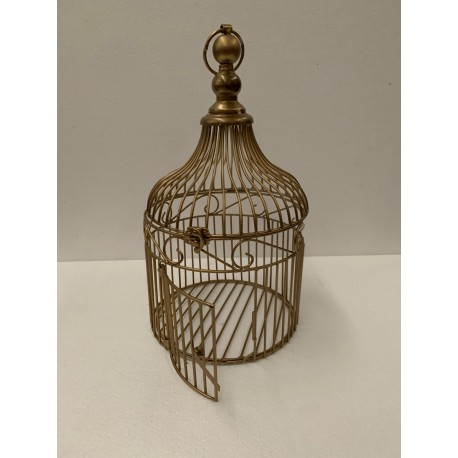 HEQ17- Gold Cage FOR HIRE
