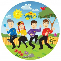 The Wiggles Round Plates