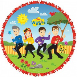 The Wiggles Expandable Pull String Piñata