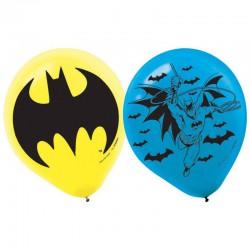 Batman Latex Balloon set - 6 pack