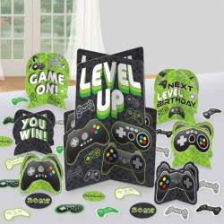 Level Up Gaming Table Decorating Kit