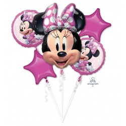Minnie Mouse Forever  Foil Balloon Set