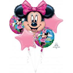 Minnie Mouse Birthday  Foil Balloon Set