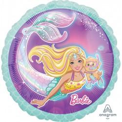 Mermaid Barbie Foil Balloon
