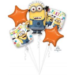 Despicable Me Minions Party Foil Balloon Bouquet