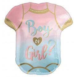 The Big Reveal Boy or Girl  Foil Balloon