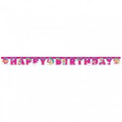 Barbie Dreamtopia Happy Birthday Banner