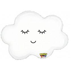 Sleepy Cloud  Foil Balloon