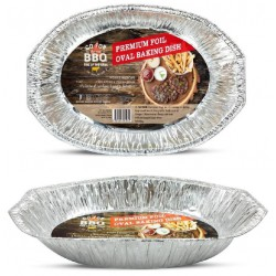 Rectangle Foil Tray - 460mm x 340mm x 70mm
