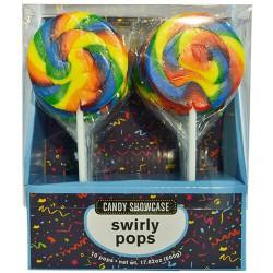Swirly Rainbow Pops- 10 pack