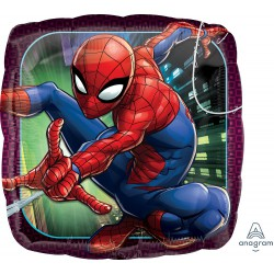 Spiderman Square Foil Balloon